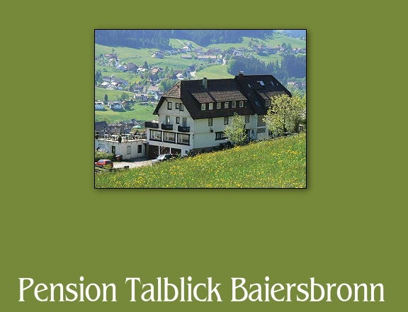 Pension Talblick in Baiersbronn